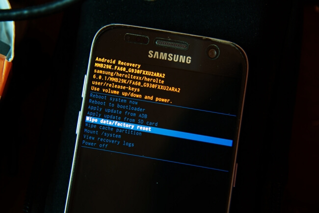 Le mode récupération pour réparer son téléphone cassé