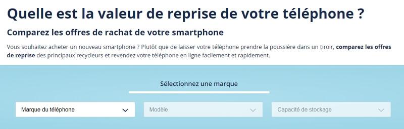 Reprise de téléphone cassé : quel prix de reprise ?