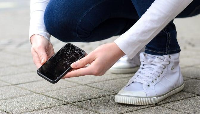 Un téléphone cassé peut encore valoir de l'argent