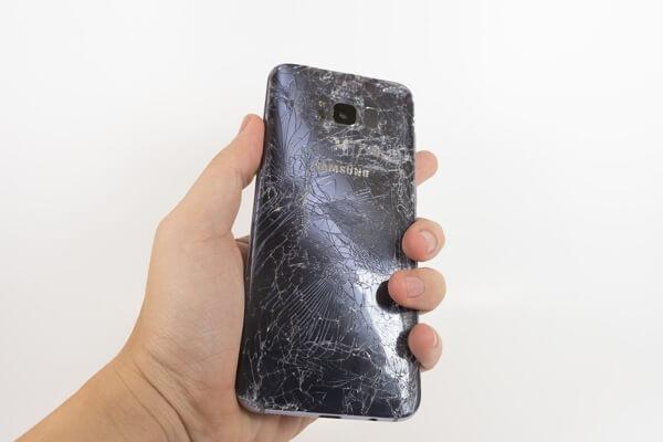Vendre un téléphone Samsung cassé