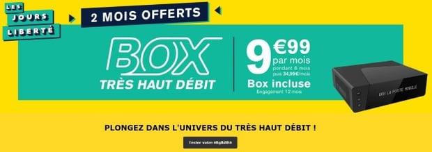 Internet La Poste : box THD en promo