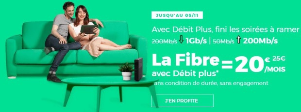 La fibre jusqu'à 1 Gb/s : Red Box