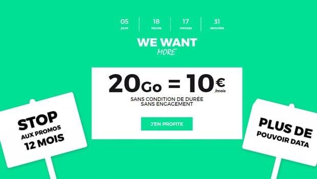 red 20go 10 euros