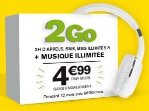 La Poste Mobile : forfait 2h/2 Go en promo