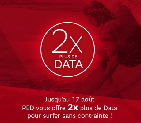 2X plus de data chez RED