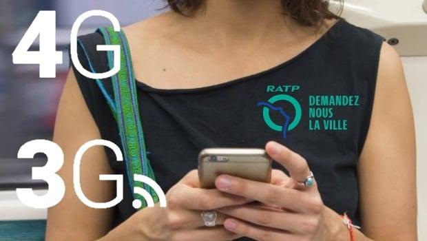 3G et 4G dans le métro parisien… au mieux pour 2019 !