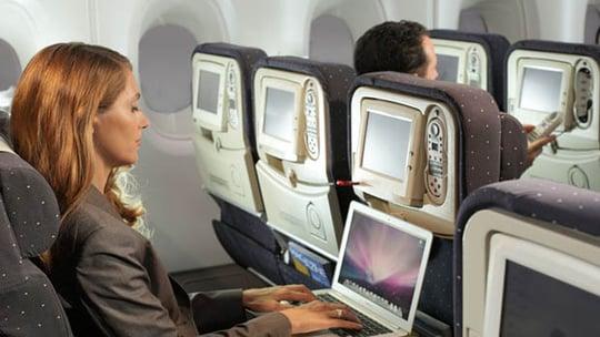 La 3G/4G dans les avions servira surtout à profiter d'Internet