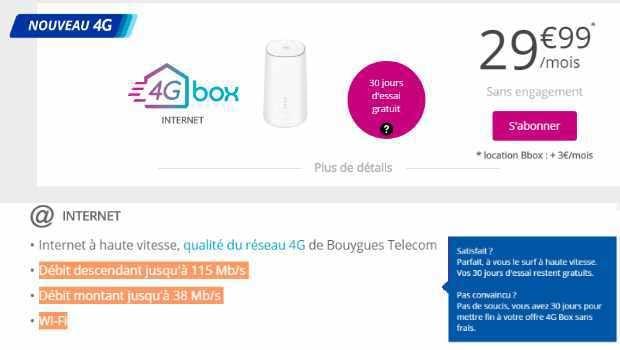 4G box, version 2 en 4G+