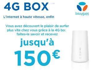 Offre parrainage 4G Box de Bouygues Telecom