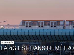 1ère ville avec son métro 4G à 100%
