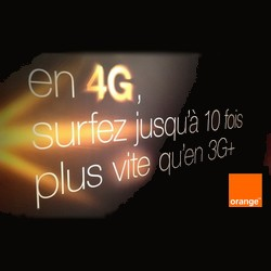débit et couverture de la 4G d'orange