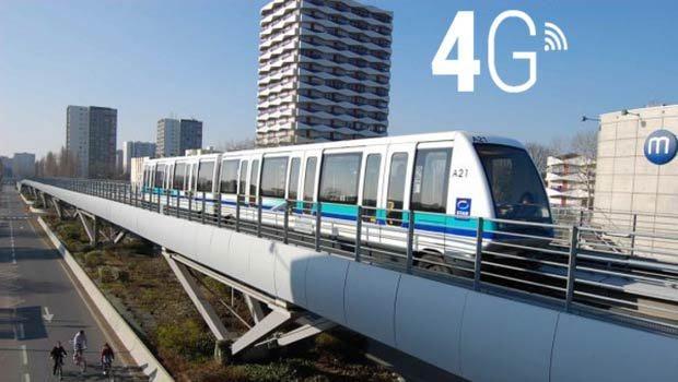 4G dans le métro rennais