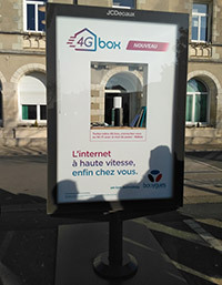Lancement officeil de la 4G box de Bouygues Telecom 20 janvier 2017 à Neuville de Poitou