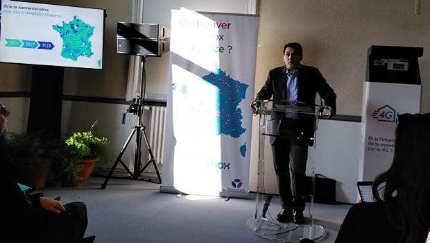 Olivier roussat, PDG de Bouygues Telecom