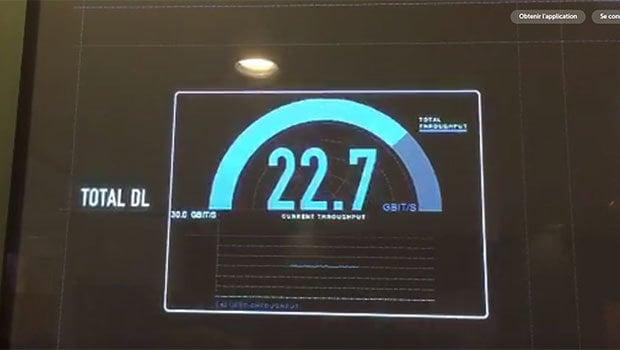 Bouygues Telecom 5G à plus de 25 Gbit/s