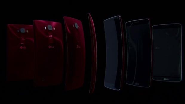 LG G Flex 2, de 7,1 à 9 mm d'épaisseur