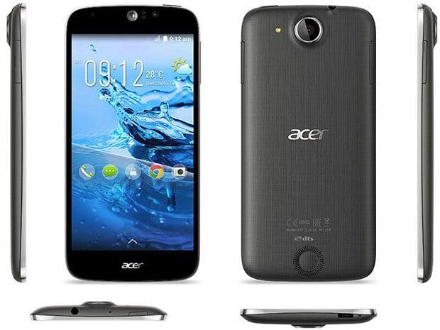Acer Liquid Jade Z 4G mais pas NFC
