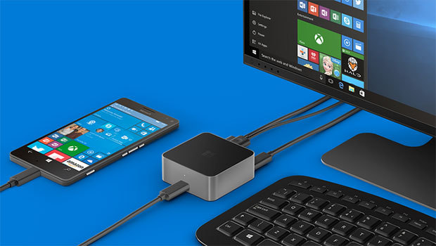 Microsoft Lumia 950 sous Windows 10 mobile