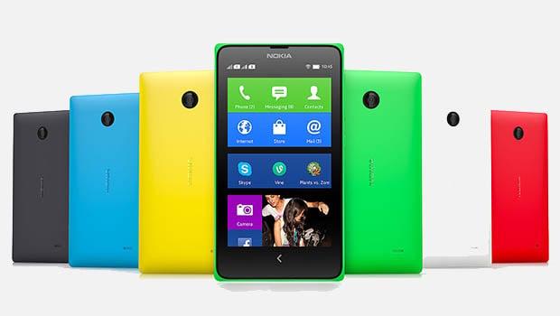 Nokia X : six coloris, des plus classiques aux plus 'flashy'