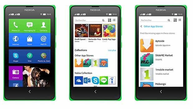 Nokia X : un design jeune et réussi