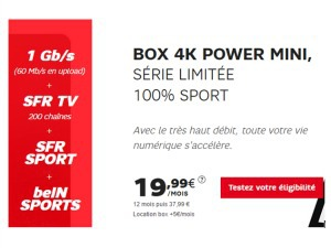 SFR : Power Mini 100% Sport
