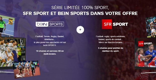 SFR Sport et BeIN Sports inclus à vie dans Power Mini