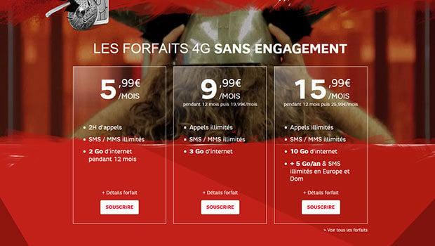 Les offres Journées Guerrières de RED by SFR