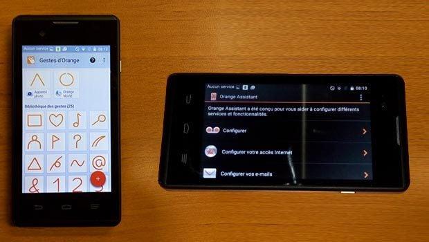 Ecran de 4 pouces pour un smartphone polyvalent