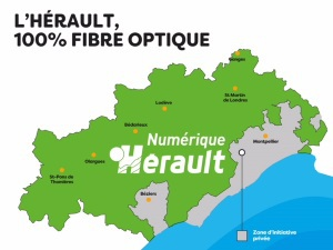 Très haut débit dans l'Hérault