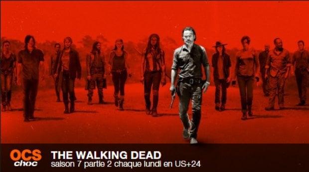 The Walking Dead : les nouveaux épisodes de la saison 7 sur OCS