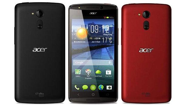 Acer Liquid E700, disponible en bordeaux et noir