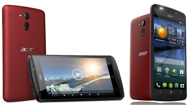 Acer Liquid E700 : Android KitKat, 2 Go de mémoire et 16 Go de stockage