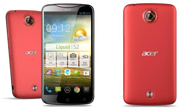 Acer Liquid S2, fin, élégant et assez lourd