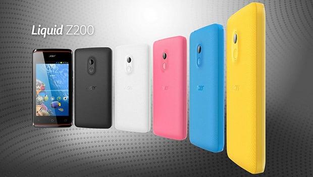 Acer Liquid Z200 : moins de 70 euros le smartphone