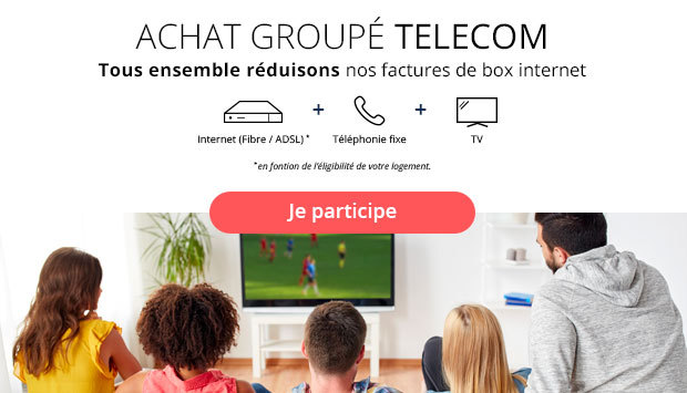 Inscription achat groupé Internet par Ariase