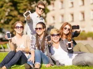 Les adolescents et l'utilisation du portable