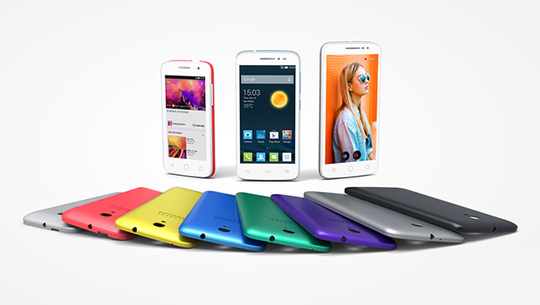 Alcatel OneTouch POP 2, en 4'', 4,4'' ou 5''