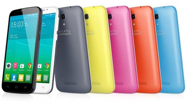 Alcatel One Touch Pop S7, plusieurs coloris et des coques en complément