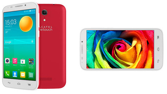 Alcatel One Touch Pop S7 : 4G, NFC et Bluetooth 4.0