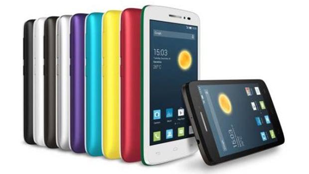 Alcatel One Touch Pop 2 (4.5) des coques interchangeables colorées