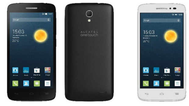 Alcatel One Touch Pop 2 (4.5) avec double carte-SIM