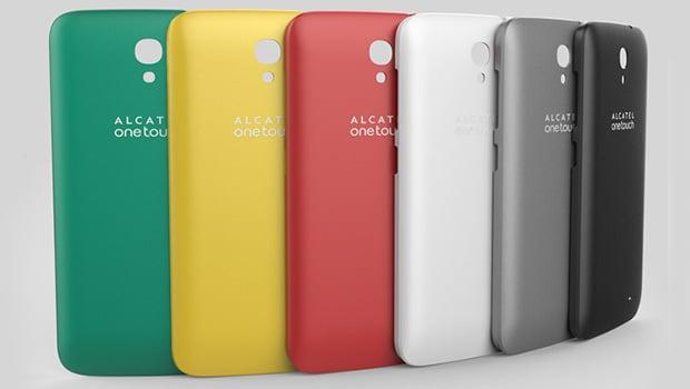 Alcatel One Touch Pop 2 (4.5), les coques sont vendues séparément