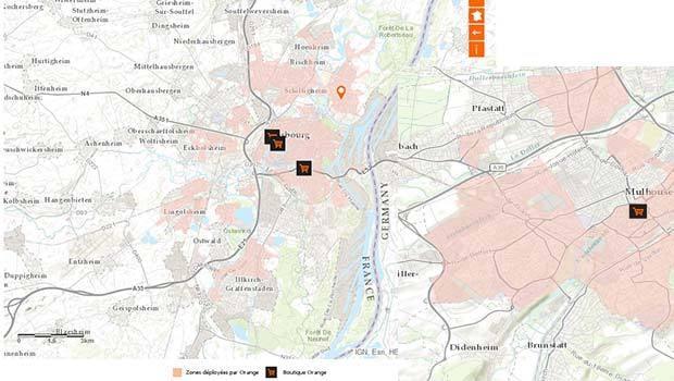 Orange couvre peu de zones en FTTH en région Alsace