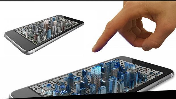 Un smartphone holographique