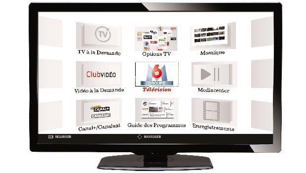 Box SFR, RED et Box TV Plus La Poste, toujours avec les contenus du Groupe M6
