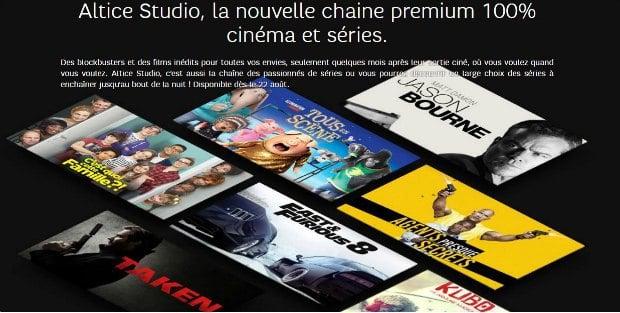 SFR : lancement d'Altice Studio le 22 août