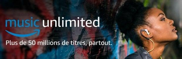 Amazon Music Unlimited : 50 millions de titres en illimité