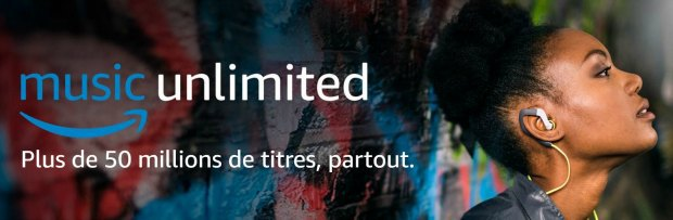 Amazon Music Unlimited : 50 millions de titres en illimité