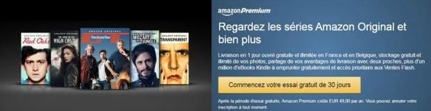 Amazon Premium pour s'abonner au service vidéo