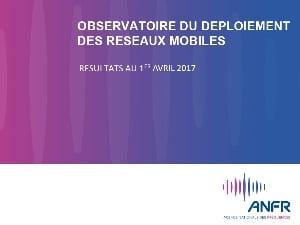 ANFR, bilan déploiement 4G mars 2017 : Bouygues devant SFR
